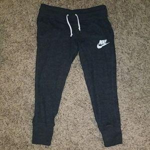 Nike crop sweats